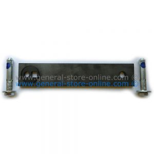 """Steel anchor plate 7.5""""x 1-5/8"""" with active tension cam"""